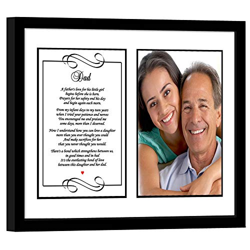 (Father Gift from Daughter, Sweet Poem for Dad, Add Photo)