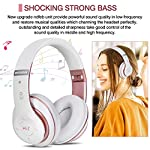 6S Wireless Headphones Over Ear,Hi-Fi Stereo Foldable Wireless Stereo Headsets Earbuds with Built-in Mic, Micro SD/TF…