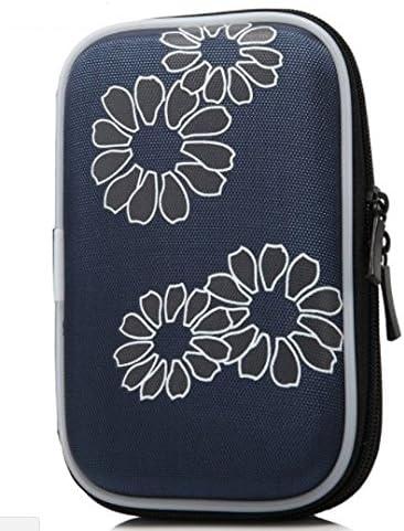 S-Blue Tasmine Etui Sac Housse Pochette Portable Antichoc Externe Protection pr HDD Disque Dur 2.5 EVA Nylon