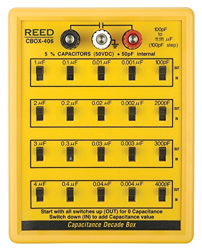 REED Instruments R5406 Capacitance Decade Box by REED Instruments