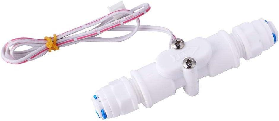 Wasserdurchflusssensor pr/äziser Wasserdurchflusssensor PE-Wasserschalter G1//4 Gesunder