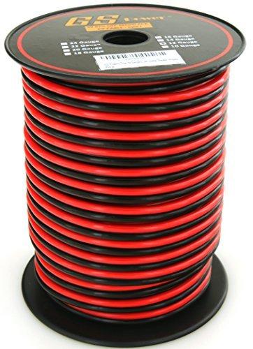 セール 登場から人気沸騰 GS Power's True Bonded 12 Gauge (American Cord Wire OFC Ga) 100 feet 99.9% OFC stranded oxygen free copper Red/ Black 2 Conductor Bonded Zip Cord Power/ Speaker Cable for Car Audio Amplifier Home Theater Robotic [並行輸入品] B07FQ6C8PK, JUSTJAPAN:f10d4d26 --- specialcharacter.co