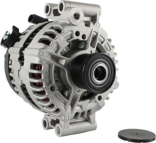 .0L BMW 528 SERIES 08 09 11300, LRA03566, 0-121-615-010, 12Clock 150Amp Internal Fan Type Clutch Pulley Type Internal Regulator CW Rotation 12V ()
