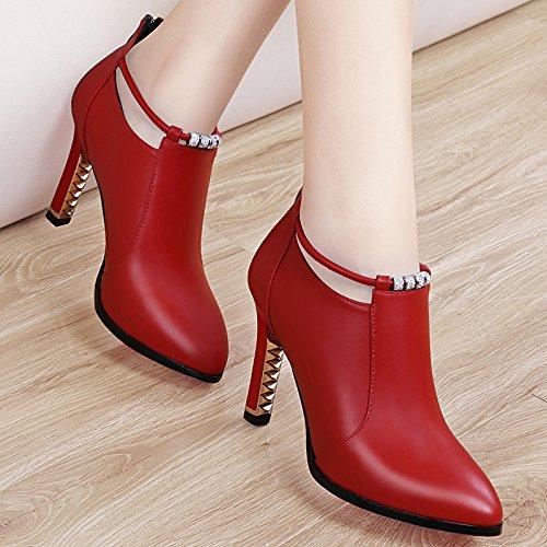 KPHY-Herbst Schuhe Mit Mit Mit High Heels Wasserdichte Taiwan Bereits Tief Im Herbst Schuhe Meine Schuhe 38 Des b62262
