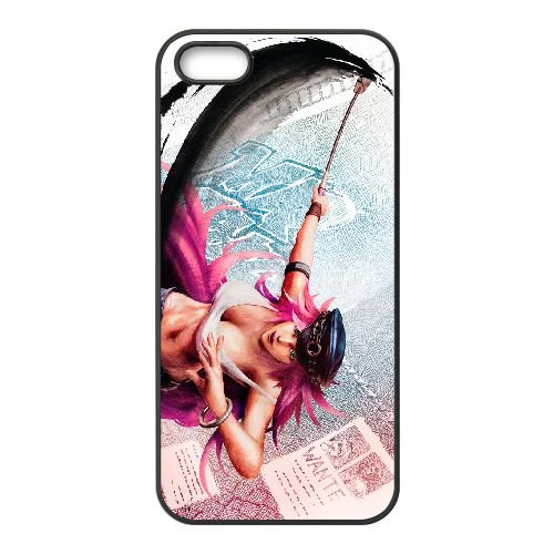 Street Fighter Iv 7 coque iPhone 4 4s cellulaire cas coque de téléphone cas téléphone cellulaire noir couvercle EEECBCAAN02583