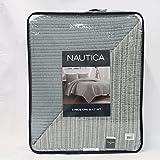 Nautica 3 Pc Quilt Set, King in Grey Nautica 3 Pc Quilt Set, King in Grey