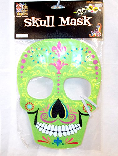 green-day-of-the-dead-sugar-skull-mask-adult-osfm-nip