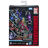 "Transformers Toys Studio Series 52 Deluxe Revenge of The Fallen Movie Arcee Chromia Elita-1 Action Figure 3 Pack, 4.5"""