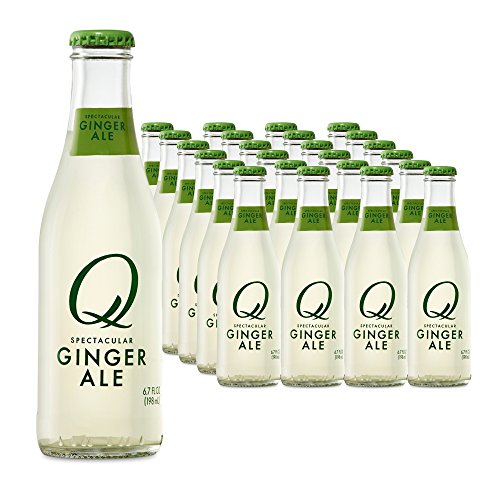 Q Drinks, Q Ginger Ale, Spectacular Ginger Ale, Premium Mixer, 6.7 Ounce Bottle (Pack of ()
