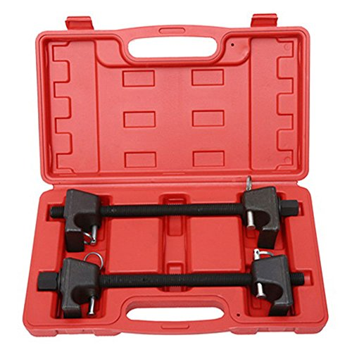 TRIL GEAR 2pc 300mm Heavy Duty Macpherson Strut Coil Spring Compressor Remover Installer Tool Kit w/Case ()