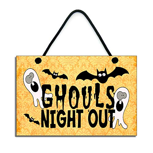 Ghouls Night Out Halloween Party - Susie85Electra Ghouls Night Out Halloween Sign
