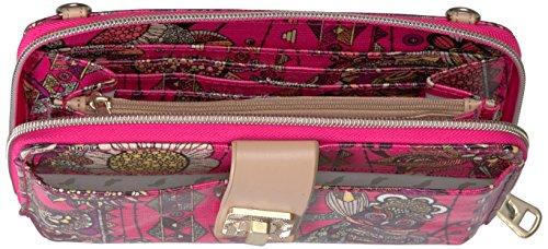 Circle Cross Artist Desert Smartphone Large Fuchsia Phone Spirit Wallet Sakroots Body OFq5Z51