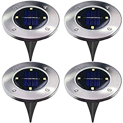 Image of the product 4Pcs 4 LED Solar Powered that is listed on the catalogue brand of NUMARDA.