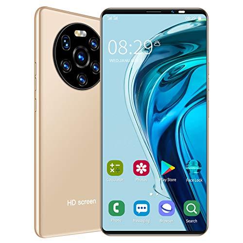 LANDVO mate40 Pro Unlocked Smartphone, 5.45in 1+8GB HD Screen Phone Dual Card Dual Standby Smart Phone 128GB of…