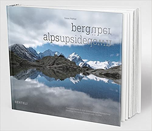 Book Alps Upsidedown: Mountain Panoramas Symmetrically Doubled