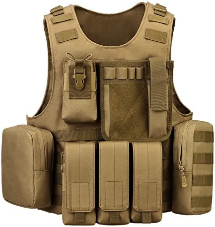 ArcEnCiel Tactical Molle Coyote Brown product image