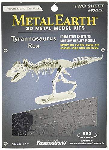 - Fascinations Metal Earth Tyrannosaurus Rex Skeleton 3D Metal Model Kit