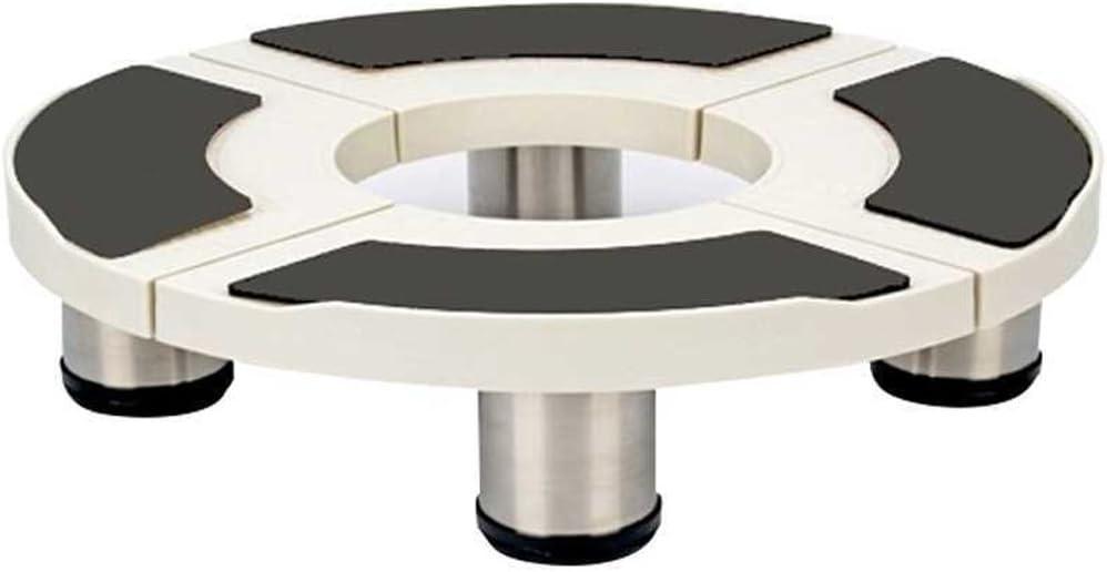 XKJPShop 家電ベース 植木鉢モッププール移動ブラケットを高める円柱エアコンのキャビネットの基礎ブラケット4ファイル 多機能取り外し可能ベース、冷蔵庫 (Size : 18cm)