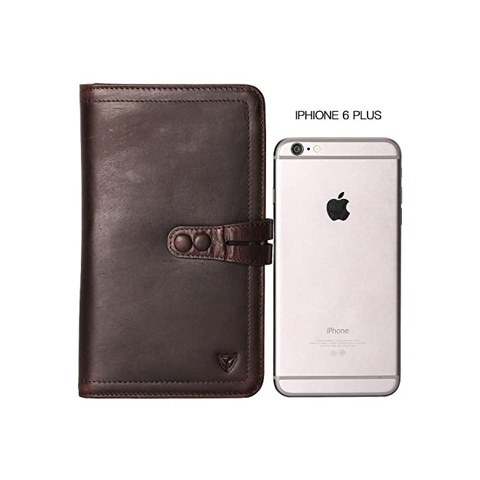 56abbeb96 ... RFID Blocking Awesome Passport Wallet Credit Cards Holder Document  Organizer Genuine Leather. Sale! On Sale. On Sale
