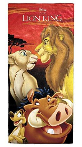 """Disney Lion King Pride Soft Cotton 28"""" x 58"""" Bath, Pool, ..."""