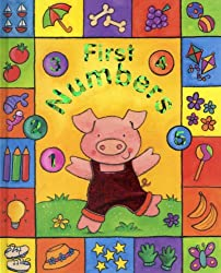 Sparkly Learning: First Numbers: Learn about numbers in lively pictures, in a chunky boardbook format with sparkly foil detail throughout