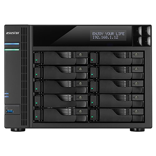 ASUSTOR AS6210T 10-Bay INTEL Quad-Core NAS from Asustor