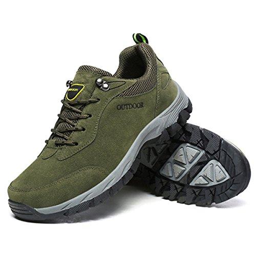 Sneakers Trekking Escursionismo Esterni Sportive Scarpe Verde Arrampicata Rampicanti Da All'aperto Corsa Passeggiata Gracosy Uomo Pattini Montagna Sports qnO8x0wft