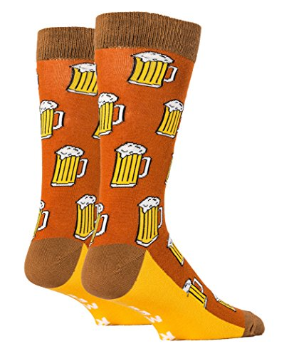 Oooh Yeah Socks Men's Luxury Combed Cotton Funny Whiskey Me