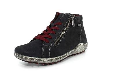 Remonte Damen Boots Blau Schuhe in Übergrößen