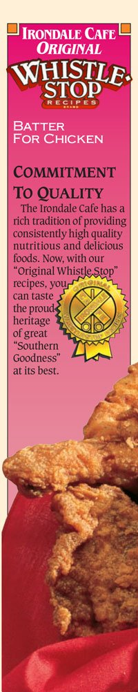 Original WhistleStop Cafe Recipes | Batter Mix for Chicken | 9-oz | 1 Box by Irondale Cafe Original Whistle Stop Recipes (Image #5)