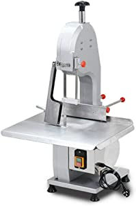 Heavy-Duty Electric Bone Cutting Machine Commercial Electric Meat Band Saw Frozen Meat fish Slicer Processing Machine Stainless Steel 110V 1500W