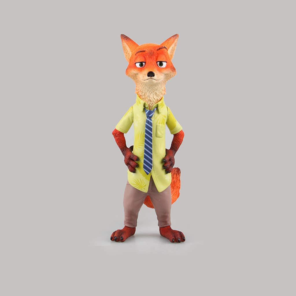 tienda Yuanyuanliu Crazy Animal City Fox Nick Nick Nick Anime Modelo de Juguete Recuerdo Colección Artesanía  promociones de descuento