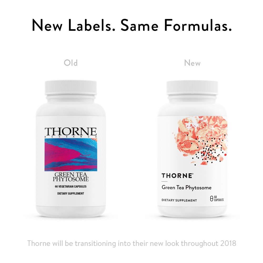 Amazon.com: Thorne investigación – Té verde phytosome – 60 ...