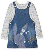 Mothercare Baby Girls' Denim Pinafore Dress, Blue, 18-24 Months (Manufacturer Size: 92)