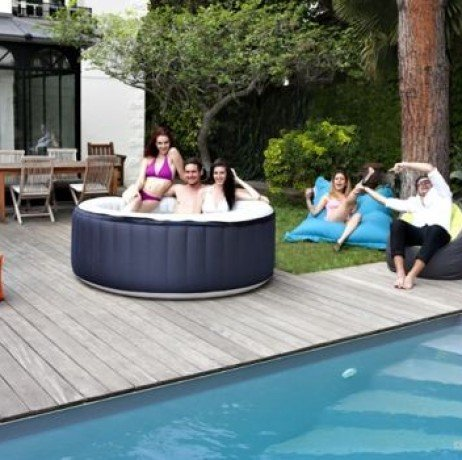Spa Jacuzzi hinchable Spark 4 plazas lienzo: Amazon.es: Jardín