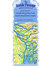 Inside Passage Route Planning Map - South Portion/Folded: Columbia River & Puget Sound to Grenville Channel, British Columbia