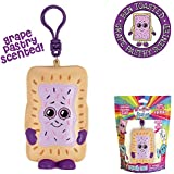 Whiffer Squishers Ben Toasted Slow Rising Squishy Toy Grape Toaster Pastry Scented Backpack Clip