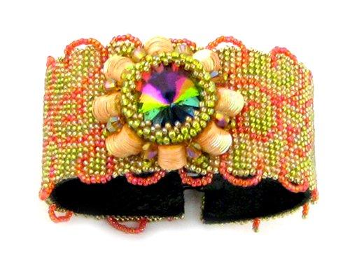 Ann Beaded Bracelets (Beads East Sunburst Beaded Needlepoint Bracelet Kit by Ann)