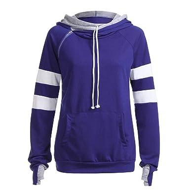 bfd1a11dde69be TOPKEAL Hoodie Pullover Damen Herbst Winter Kapuzenpullover Geschmeidig  Sweatshirt Winterpullover Jacke Lässig Mantel Mode Tops