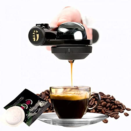 TAOLILI Máquina de café portátil Mini café express Cafetera de mano Cafetera de mano Operación fácil: Amazon.es: Hogar