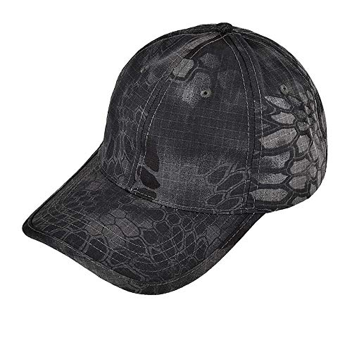Gajaous Unisex Mens Womens Camouflage Adjustable Baseball Cap Outdoor Hunting Casual Cap Strapback