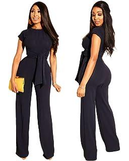 6501cd28b358 Amazon.com: Angsuttc Women Glitter 2 Piece Outfits Sexy Bandage Tie ...
