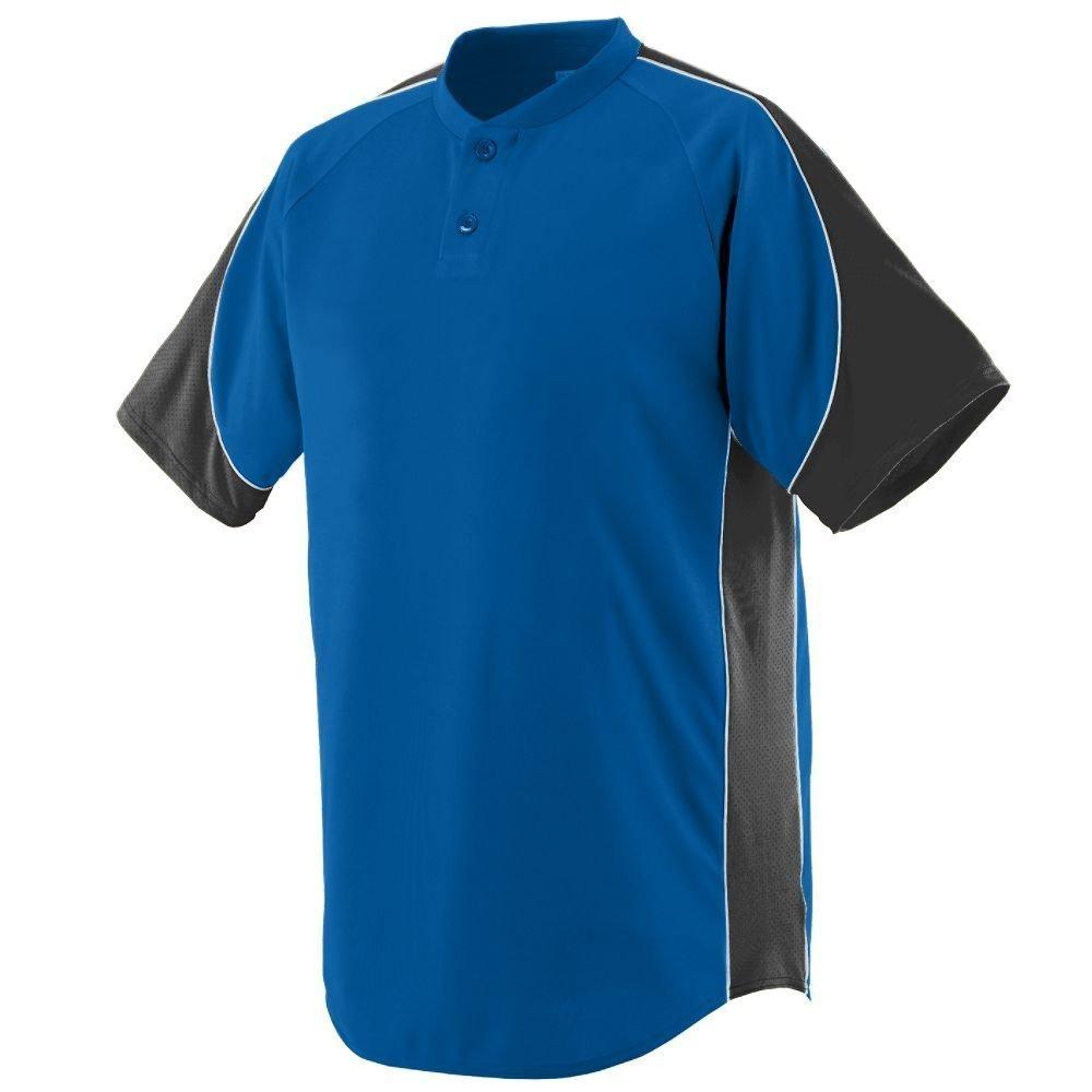 Augusta SportswearメンズBlast Baseball Jersey B00E1YT7NM X-Large ロイヤル/ブラック/ホワイト ロイヤル/ブラック/ホワイト X-Large