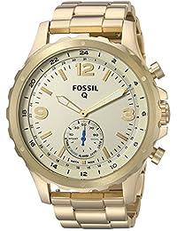 Smartwatch Híbrido Fossil Q Nate FTW1142 Dorado