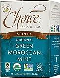 Cheap Choice Organic Teas Green Tea, Green Moroccan Mint, 16 Count, Pack of 6