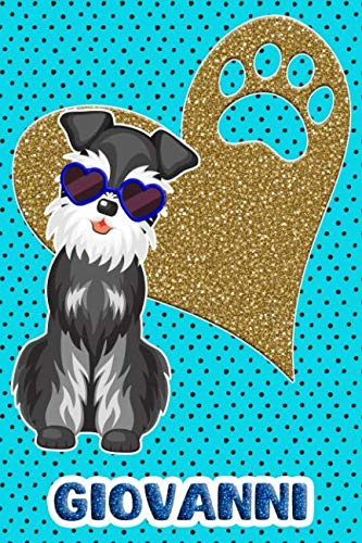 Schnauzer Life Giovanni: College Ruled   Composition Book   Diary   Lined Journal   ()