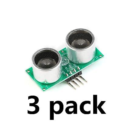 ¡¾3-Pack¡¿ Ultrasonic Sensor RCWL-1601 ultrasonic Sensor Distance Module  Compatible HC-SR04 3 v-5 V