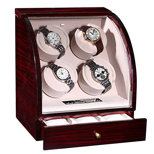 CHIYODA Automatic Watch Winder with Quiet Mabuchi Motor