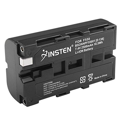 Nimh Battery Hi Cap (Insten NP-F550 NPF550 Battery Compatible with SONY Mavica Digital Camera)