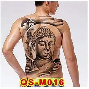 2pcsFull Gran Cantante diseño de Tatuaje en la Espalda Etiqueta ...